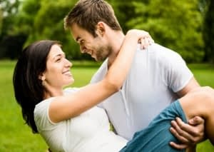 Young couple in love together - ways on how to impress your girlfriend